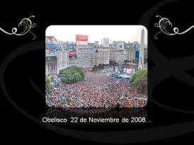 Obelisco 22 de Noviembre de 2008 ...